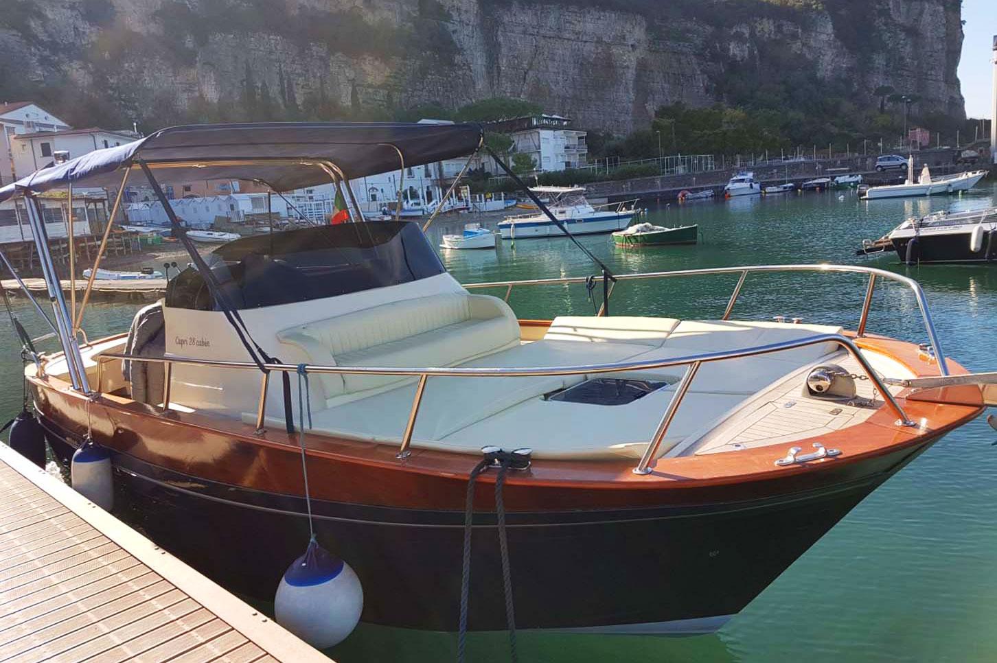 Alfamarinecharter rental sorrento boat tour capri positano zetamare 850