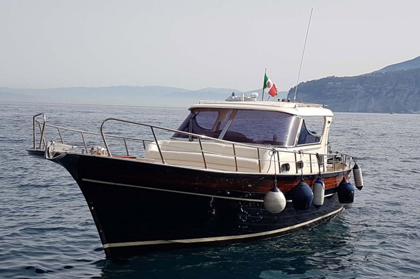 alfamarine charter fratelli aprea tour boat rental sorrento capri